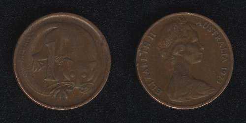 1 цент 1973 Австралия