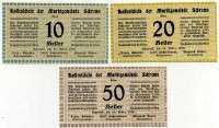 Нотгельд Австрия набор 13 (б)