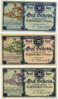 Нотгельд Австрия набор 16 (б)