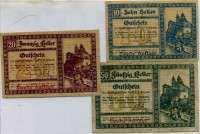 Нотгельд Австрия набор111 2 выпуск (б)