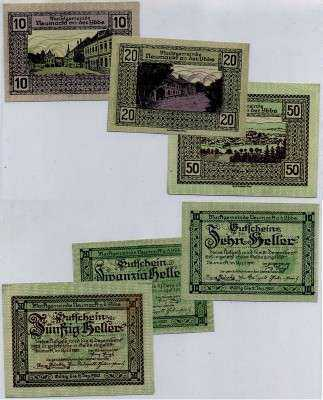 Нотгельд Австрия набор157 (б)