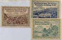 Нотгельд Австрия набор159 (б)