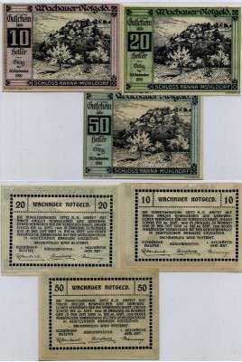 Нотгельд Австрия набор194 (б)