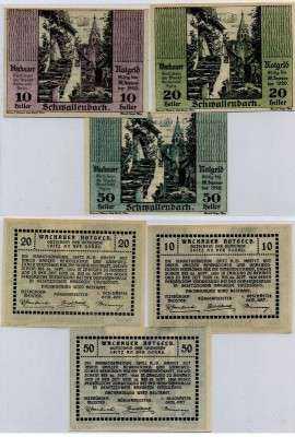 Нотгельд Австрия набор197 (б)
