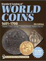 Каталог монет Краузе 1601-1700 5 выпуск 2011 год