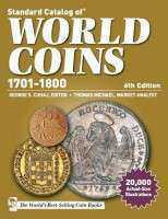 Каталог монет Краузе 1701-1800 6 издание 2014 год . Каталог монет Краузе 6 выпуск 2013 год