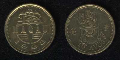 10 авос 1993 Макао