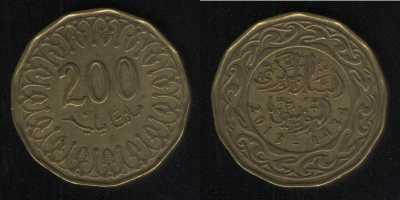 200 миллим 2013 Тунис