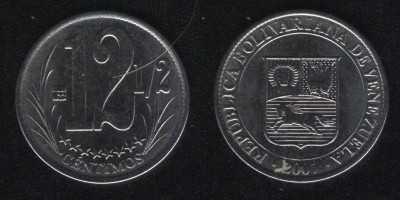 12 1/2 сентимо 2007 Венесуэла