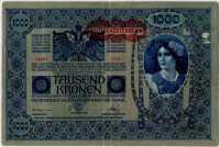1000 крон 1902 (12961) Австрия (б)