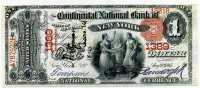 США 1 доллар 1875 (1389) копия (б)