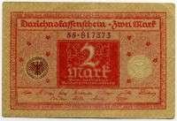 2 марки 1920 Германия (б)
