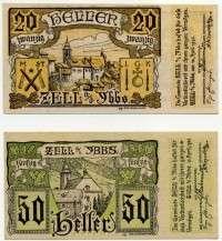 Нотгельд Австрия из набора 03 (б)