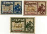Нотгельд Австрия набор 21 (б)