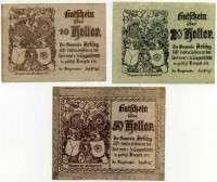 Нотгельд Австрия набор 23 (б)