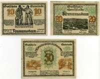 Нотгельд Австрия набор 29 (б)