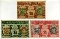 Нотгельд Австрия набор 31 (б)