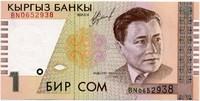 1 сом 1999 Кыргызстан (б)