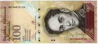 100 боливар 2013 Венесуэла (б)