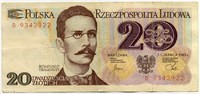 20 злотых 1982 (922) Польша (б)