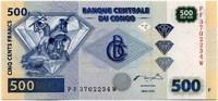 500 франков 2002 Конго (б)