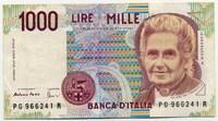 1000 лир 1990 (241) Италия (б)