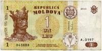 1 лей 2010 (197) Молдова (б)