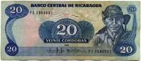 20 кордоба 1985 (551) Никарагуа (б)