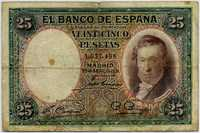 25 песет 1931 (498) Испания (б)