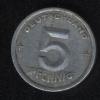 5 пфеннигов 1949 ГДР