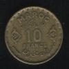 10 франков 1951 Марокко