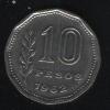 10 песо 1962 Аргентина