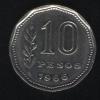 10 песо 1966 Аргентина