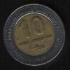 10 песо 2000 Уругвай