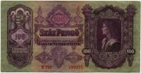 100 пенгё 1930 (012) Венгрия (б)