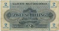 2 шиллинга 1944 оккупация Австрия (б)