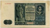 50 злотых 1941 (905) Состояние! Польша (б)