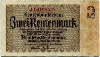 2 марки 1937 (528) № узкий Германия (б)