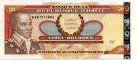 20 гурдов 2001 Юбилейная Гаити (б)