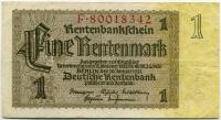 1 марка 1923 (342) № широкий Германия (б)