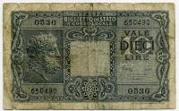 Корсика 10 лир (490) Италия (б)
