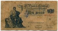 1 песо 1947 (551) Аргентина (б)