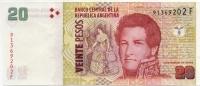 20 песо Аргентина (б)