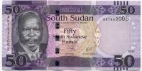 50 долларов 2017 Судан Южный (б)