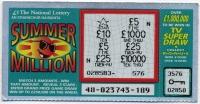 Ирландия Лотерея Summer Million (б)