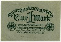 1 марка 1922 б.н. Германия (б)