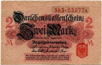 2 марки 1914 (774) Германия (б)