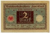 2 марки 1920 (509) Германия (б)