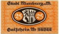 Нотгельд Германия 25 пфенниг (244) (б)