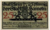 Нотгельд Германия 25 пфенниг 1918 (561) (б)
